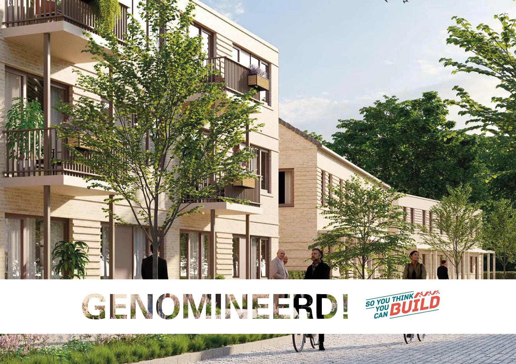 GOED genomineerd so you think you can build
