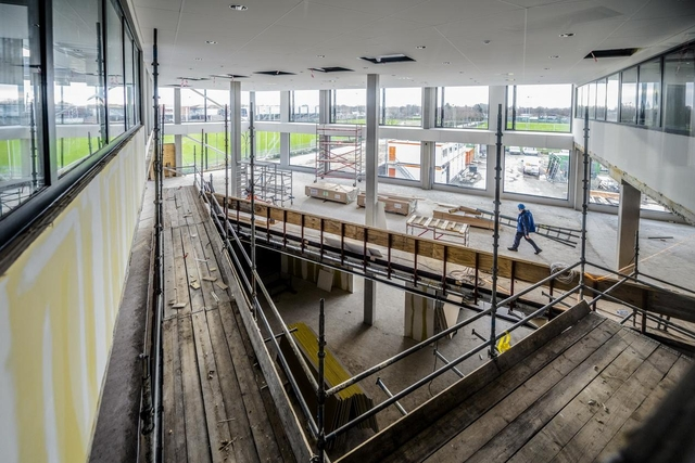 Gemeente Braak - Stucwerk en lokalen in aanbouw  20-01-2021 Foto Dave van hout Fotografie--8